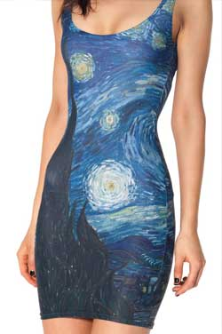 Sublimated Dress Los Angeles Embroidery
