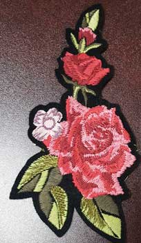 11c897983b11 custom-embroidered-patches-los-angeles-floral-red-rose • Los Angeles ...